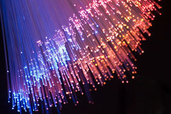 волокно оптически Стоковое Фото