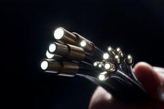волокно - оптическое Стоковая Фотография