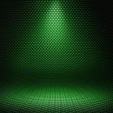 Волокно углерода текстурировало внутреннюю студию с дирекционным светом Стоковое Изображение