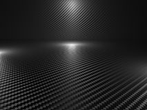 волокно углерода 3d Стоковое Фото