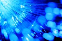 Волоконная оптика освещает конспект стоковые изображения