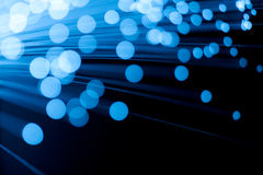 волоконная оптика Стоковое Изображение