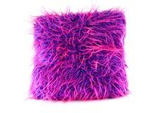 волосатый пурпур пинка подушки Стоковое фото RF