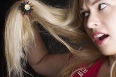 волосы внимательности длинние Стоковое Изображение RF