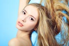 волосы внимательности Стоковая Фотография