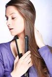 волосы внимательности Стоковое фото RF