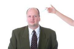 волосы внимательности Стоковое Изображение RF