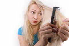 волосы внимательности Стоковые Изображения
