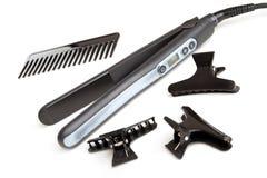 волосы выправляя инструменты Стоковая Фотография RF