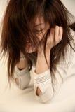 волосы девушки грязные стоковые изображения rf