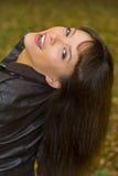 волосы девушки Стоковая Фотография RF