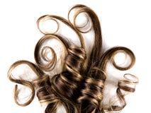 волосы длиной Стоковые Фото