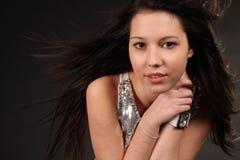 волосы длиной Стоковая Фотография