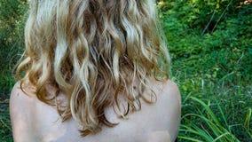 Волосы женщины стоковое изображение rf