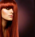 волосы здоровые Стоковая Фотография