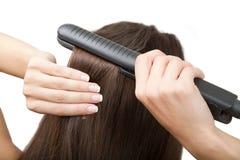 волосы как выправьте к Стоковая Фотография