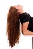 волосы красотки стоковое фото