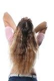 волосы красотки Стоковая Фотография