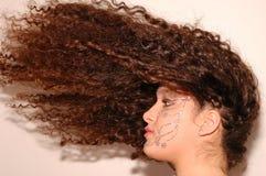 волосы летания Стоковое Изображение