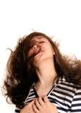 волосы летания Стоковая Фотография