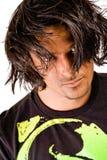 волосы мальчика длиной сексуальные стоковая фотография