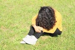 Волосы милой девушки стоковая фотография