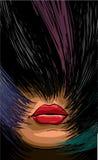 волосы пестротканые Стоковые Изображения