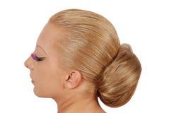 волосы плюшки стоковые изображения