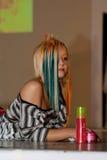 волосы празднества красотки стоковые фото