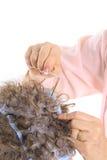 волосы расцветки bleaching стоковые изображения