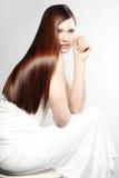 волосы совершенные Стоковое Изображение RF
