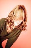волосы стороны имеют старое излишек двадцатилетнее Стоковое Фото