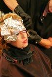 волосы фольги расцветки Стоковые Изображения