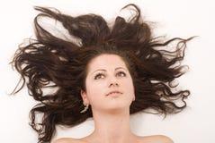 волосы цветка стоковые изображения rf