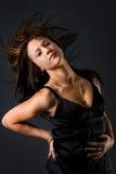 волосы щелчком Стоковая Фотография