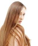 волосы длиной Стоковое Изображение RF