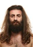 волосы длиной Стоковое Изображение
