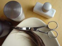 волосы 4 внимательностей Стоковые Изображения RF