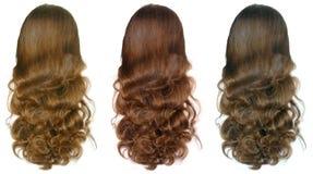 волосы longs женщины Стоковое фото RF