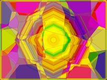Волшебная абстрактная красочная предпосылка бесплатная иллюстрация