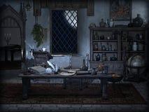 Волшебная комната иллюстрация штока