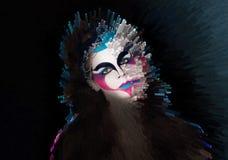 Волшебная концепция женщины Стоковая Фотография RF