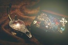 Волшебная лампа стоковое фото