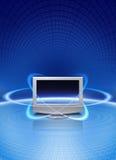 волшебная технология мультимедиа Стоковое фото RF