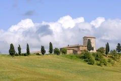 волшебная Тоскана Стоковые Фото