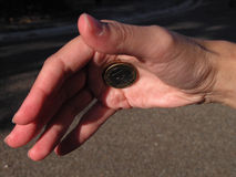 волшебник руки Стоковые Фотографии RF