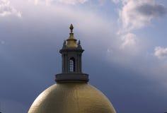 волшебное купола золотистое стоковые изображения