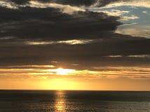 Волшебное небо Los Cabos Мексики Стоковые Изображения RF