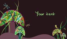 волшебные грибы Стоковые Изображения RF