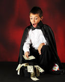 волшебные деньги Стоковое Фото